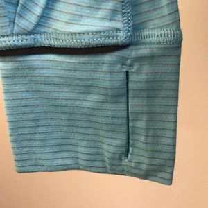 lululemon athletica Tops - Lululemon blue LS top, sz 8, 70656